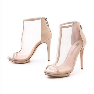 d7be85c49 🔥NEW Nude Sexy Mesh Booties